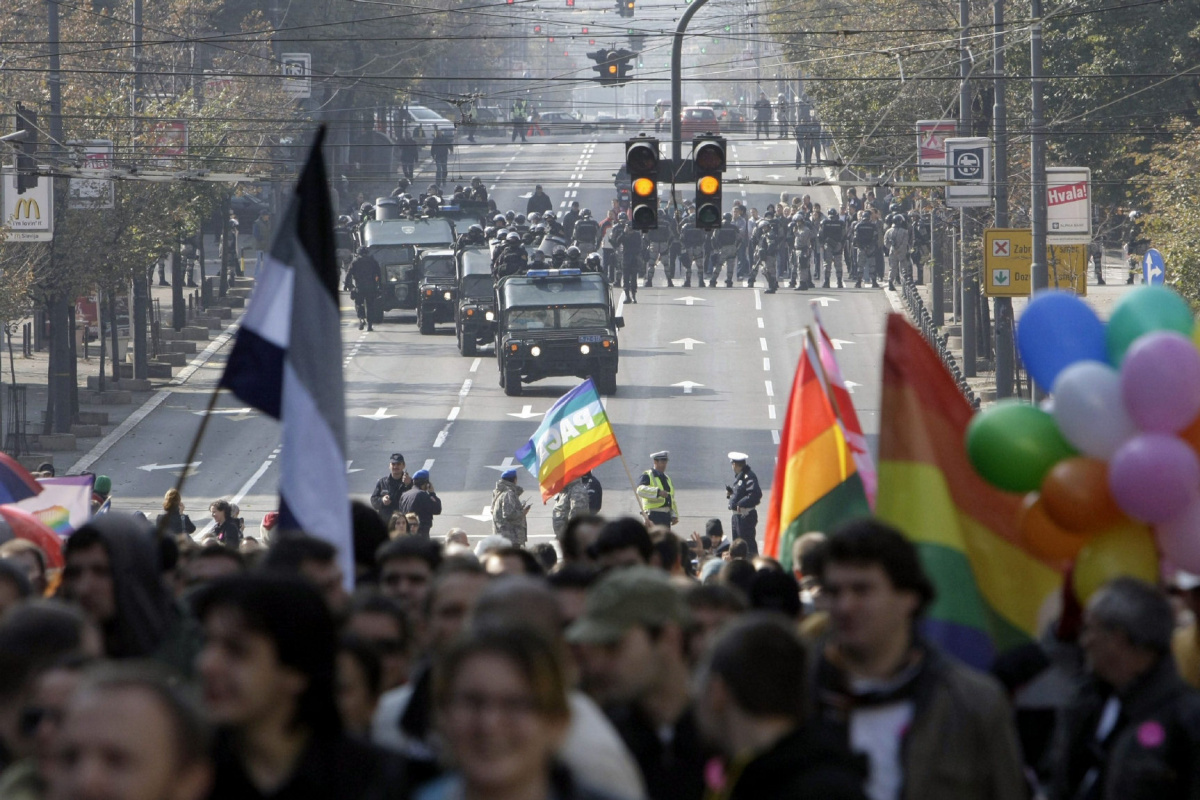 Belgrade Pride hopefully on 28 September