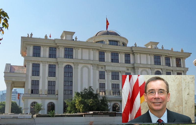 Foreign Ministry in Skopje reacts against the newly appointed US ambassador