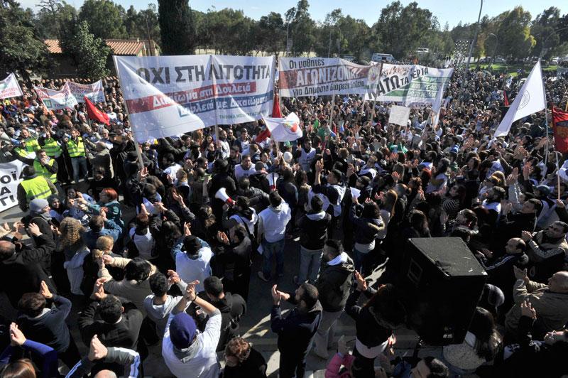 Strike measures postponed in Cyprus