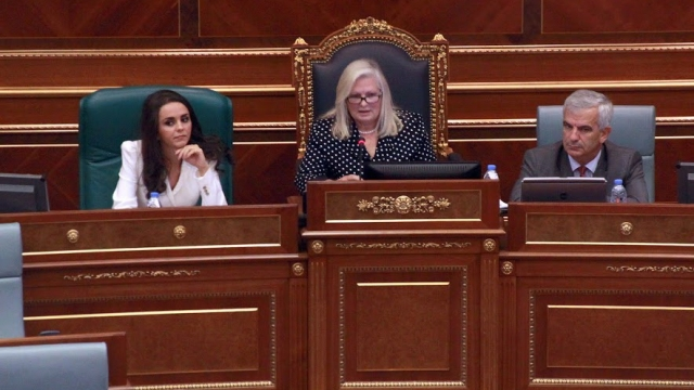 PDK fails in the election of the speaker, Brovina suspends the session