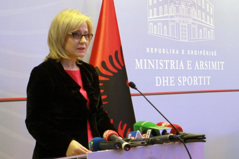 Problematic school tests will be removed from circulation, says Albanian Education minister