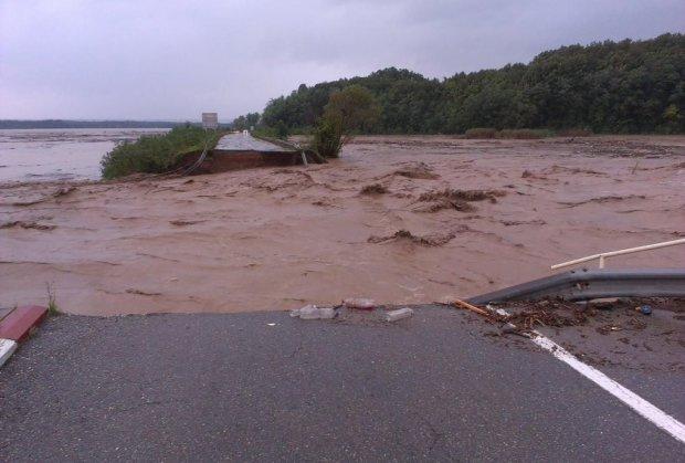 Floods in eastern Serbia