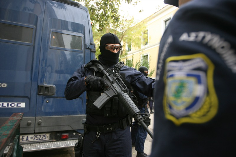 Greek Police on alert for terrorist attacks