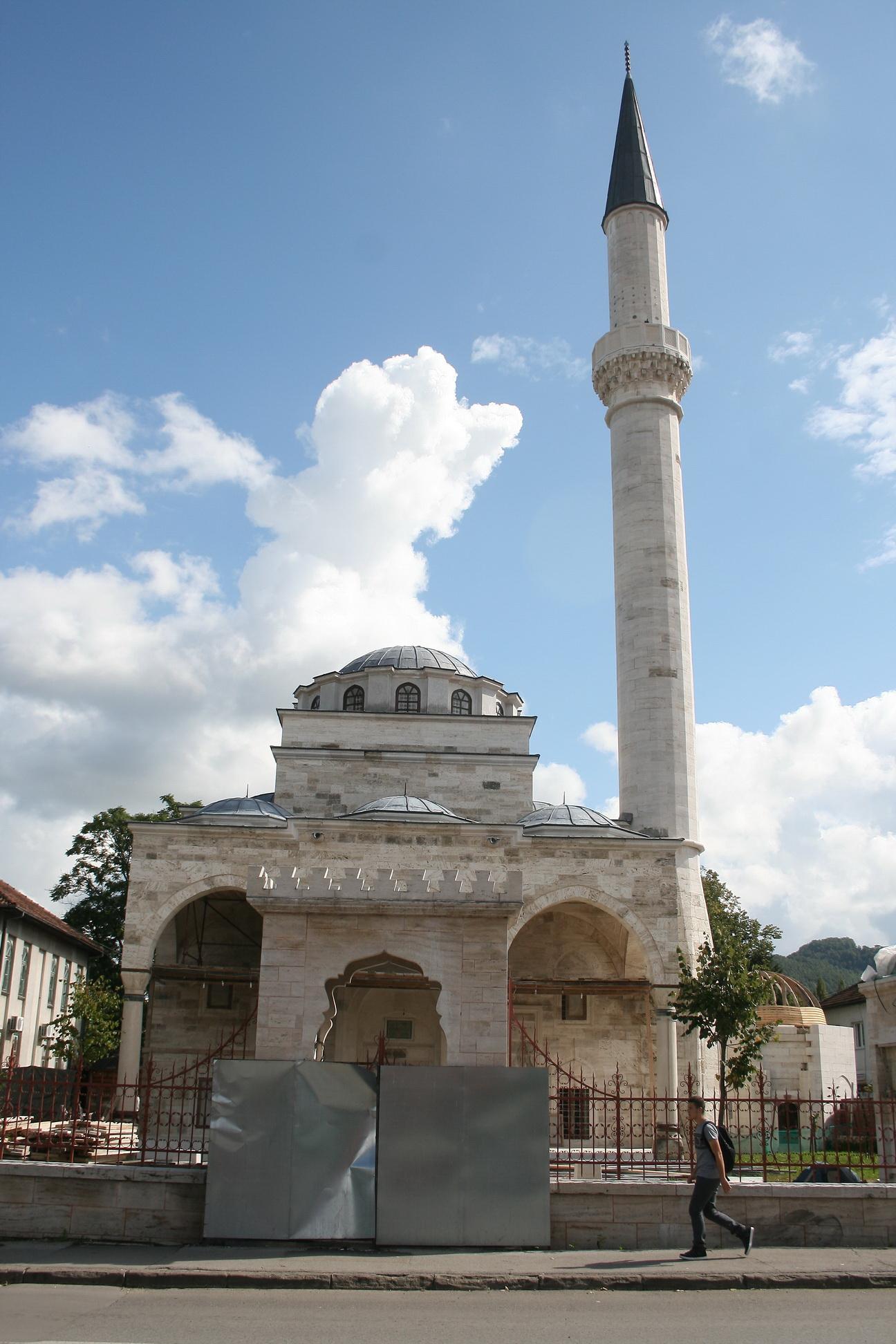 Turkey organization TIKA finance Ferhadija mosque reconstruction