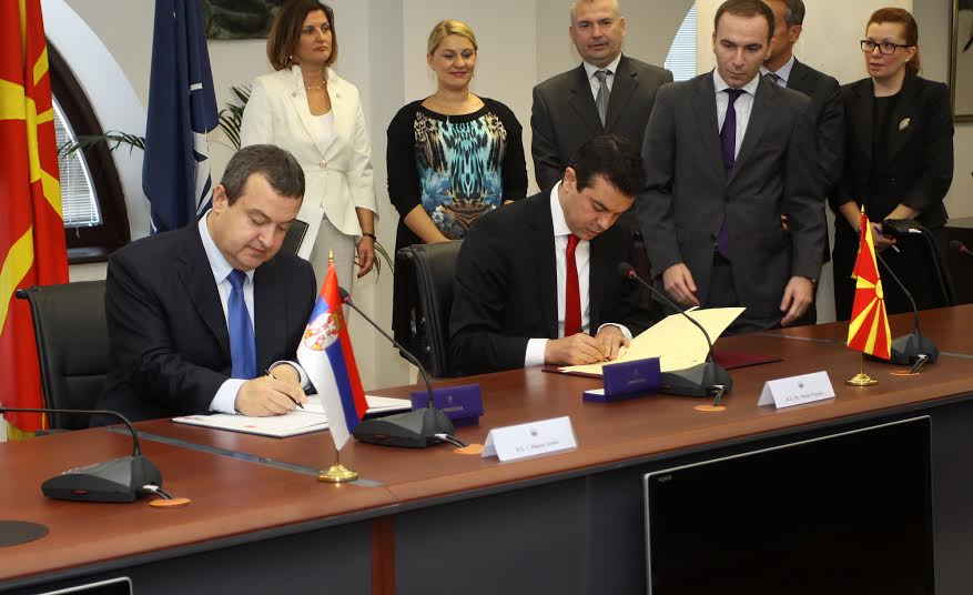 Belgrade and Skopje sign an agreement for joint embassies