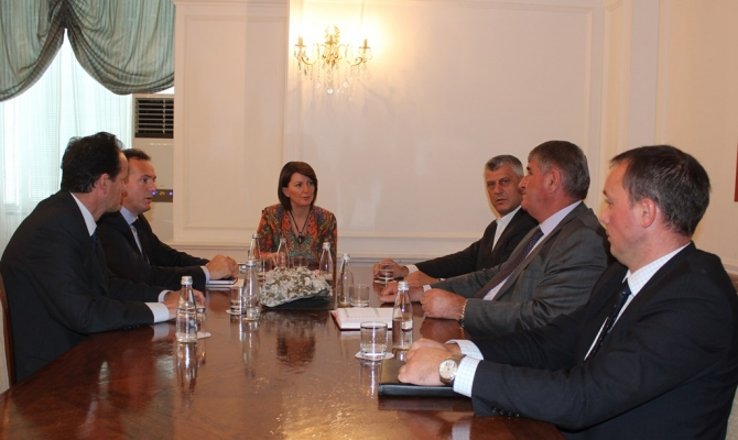 President Jahjaga demands the implementation of the agreements with Serbia
