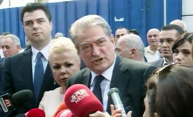 Fullani's arrest, Basha: Politically motivated, Berisha: A Stalinist type act