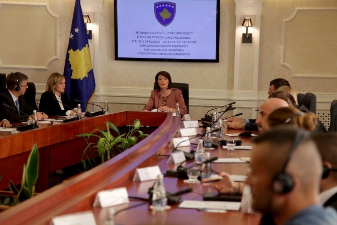 Institutions must be established in compliance with the Constitution, says president of Kosovo