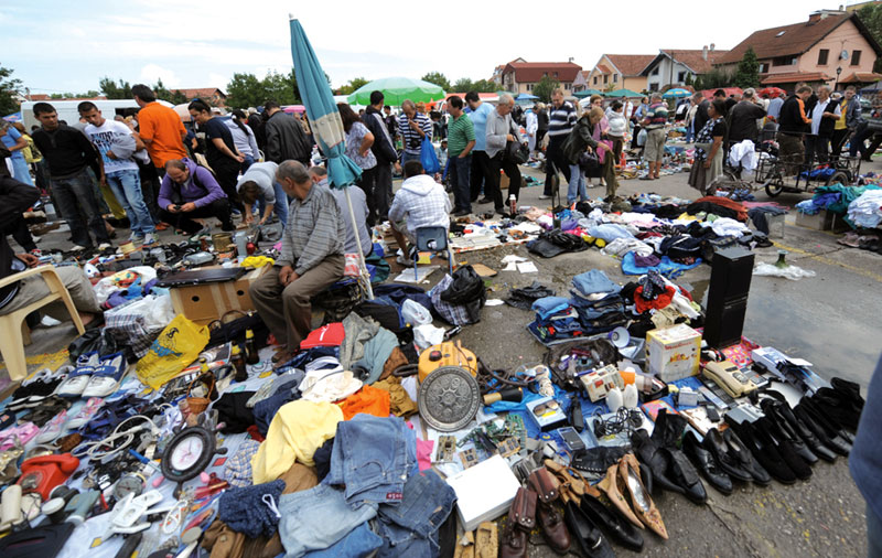 Fight against ambulant vendors, the picture of the social reality