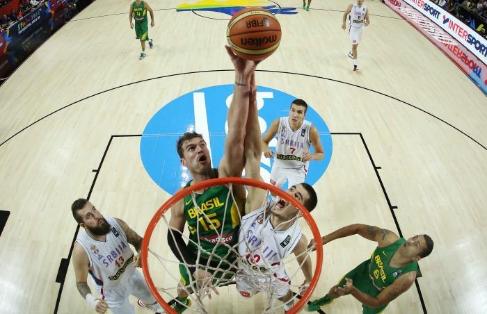 World Basketball Cup 2014: Serbia – Brasil 84-56