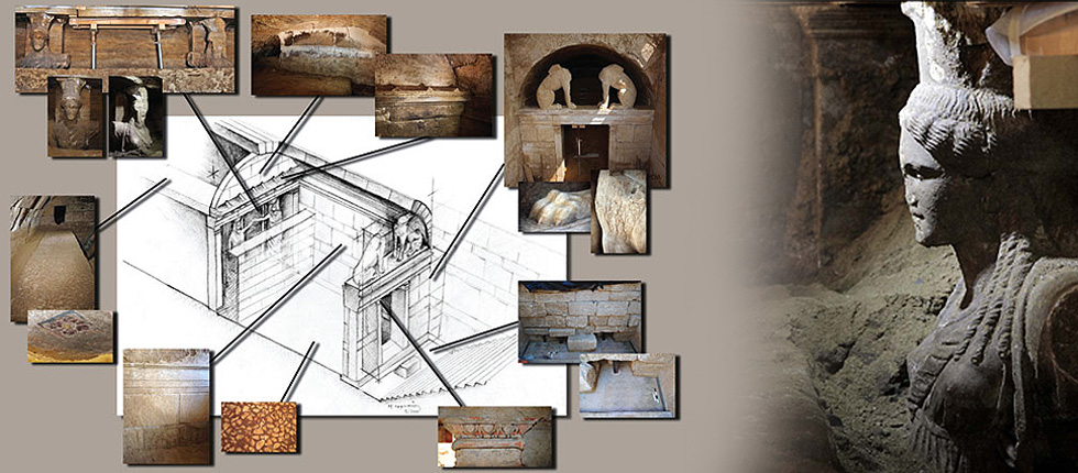First representation of the tomb of Amphipolis