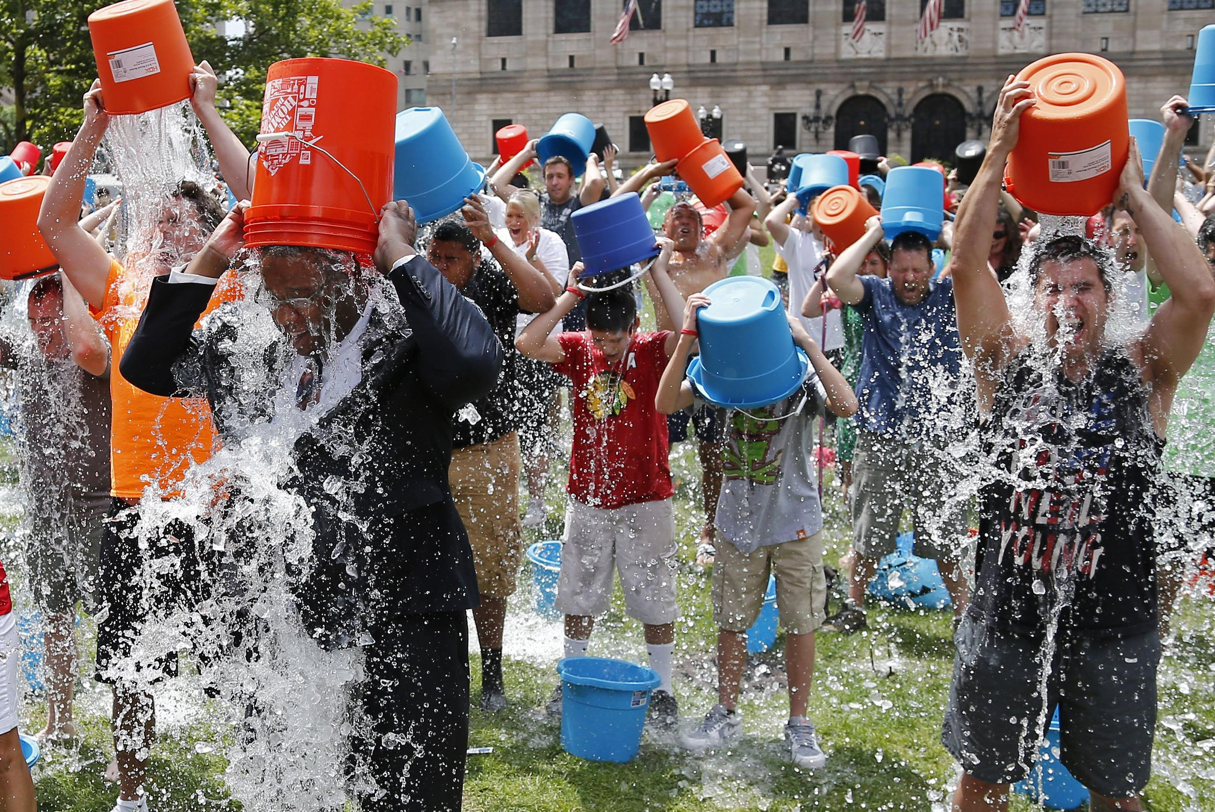'Ice Bucket Challenge' in BiH is not just a fashion