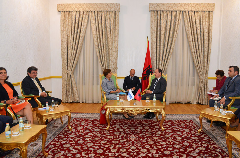 President Nishani demands for the rights of Albanians in neighboring countries to be consolidated