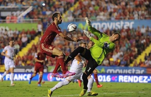 FYROM defeated by Spain