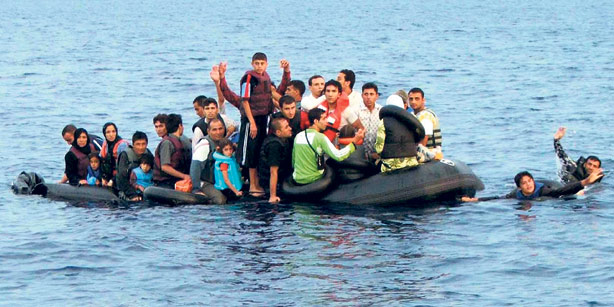 Turkey is battling to contain illegal immigration
