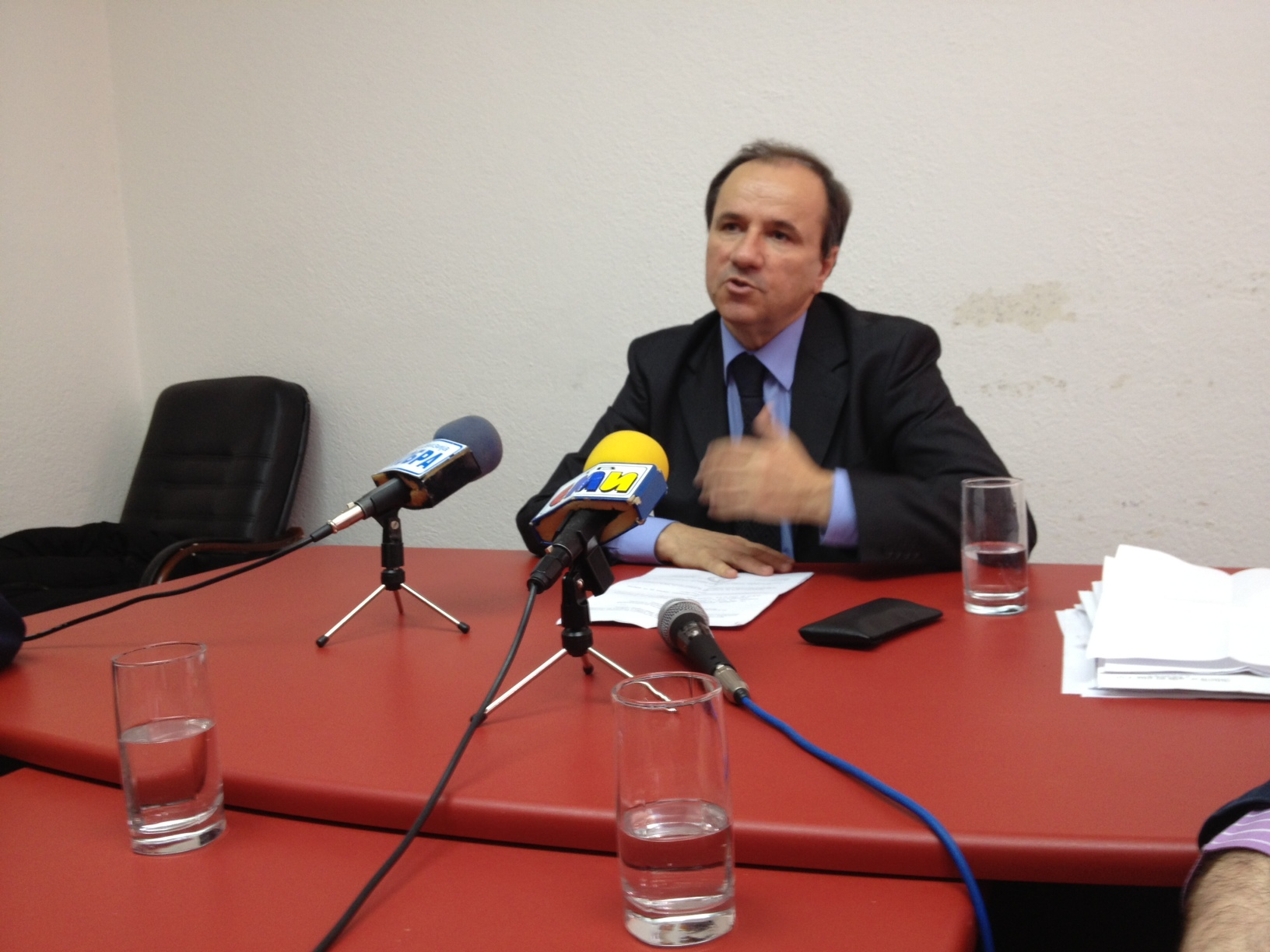 """IBNA Interview/ """"Religious radicalism threatens the region, a strong reaction is needed"""", says Trajanov"""