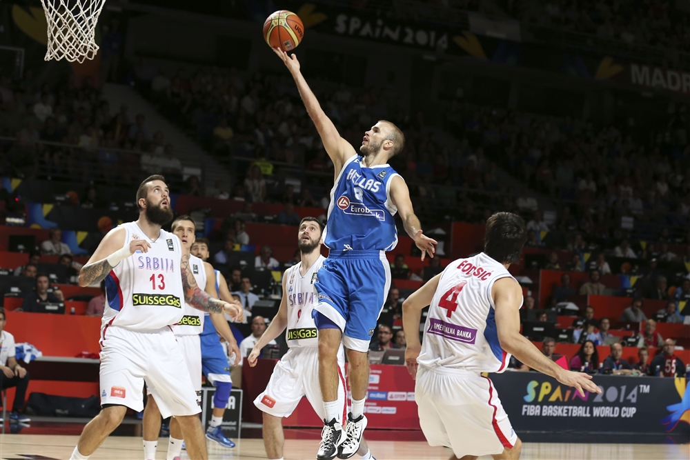 Serbia, Slovenia and Turkey to the quarterfinals of the World Basketball Cup