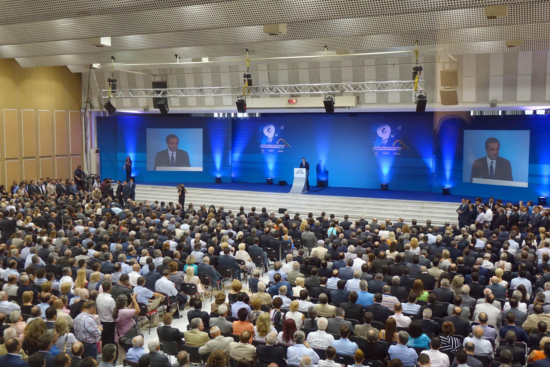 Samaras: 'Greece is finding its stride'