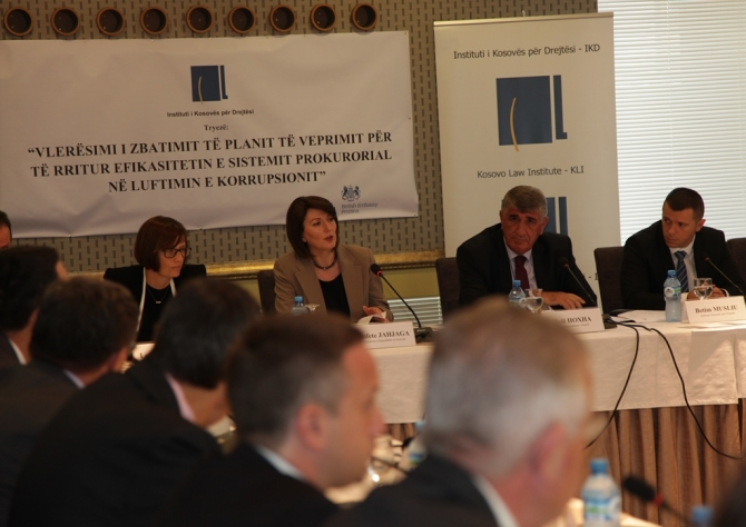Jahjaga appeals for fight against corruption