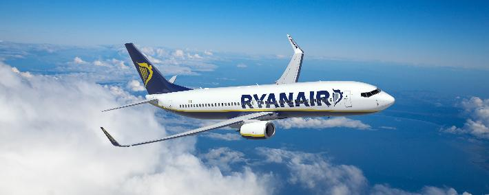 An increase in flights to and from Greece announced Ryanair