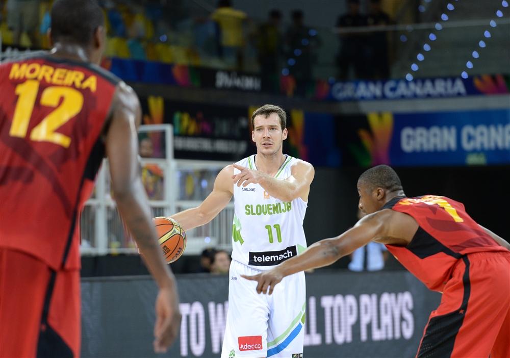 4X4 for Slovenia in Mundobasket