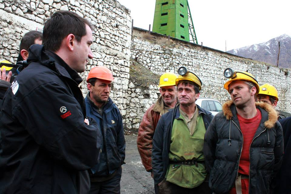 Age of retirement for miners in Albania goes down