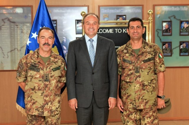 Kosovo is interested on having contractual relations with NATO