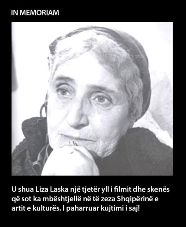 The emblem of the Albanian cinema, Liza Laska dies at the age of 88