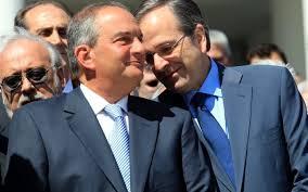 Secret meeting Samaras-Karamanlis