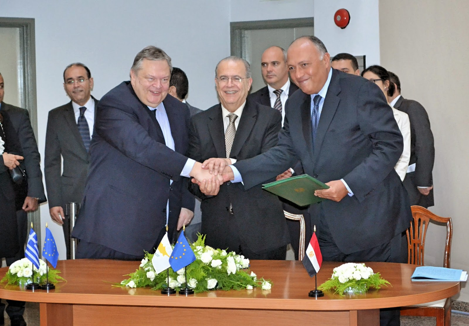 With an agreement on Tourism ended the tripartite meeting Greece-Cyprus-Egypt