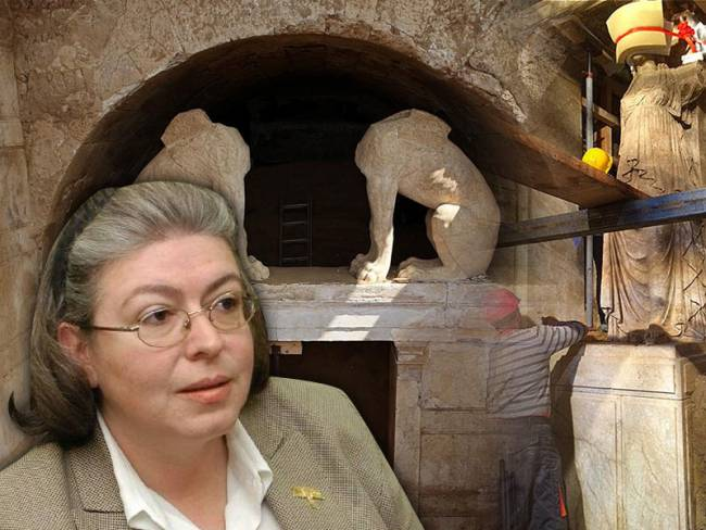 Mendoni: The tomb in Amphipolis shows clear signs of human intervention