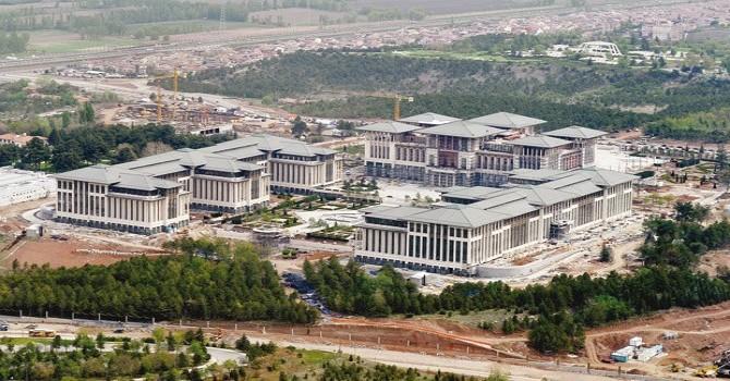 Erdogan inaugurates new Presidential Palace