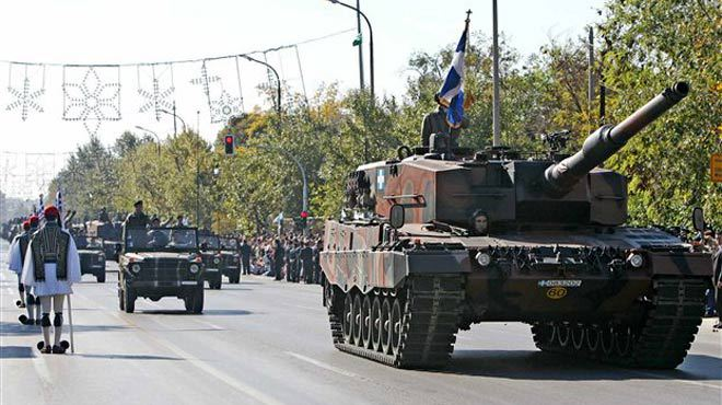 The military parade culminated the celebrations for National 'NO' Day in Greece