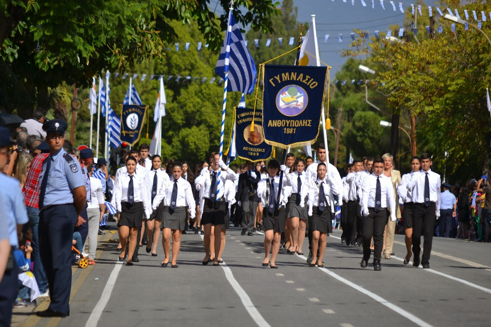The anniversary of 'NO' celebrated with pomp in Cyprus