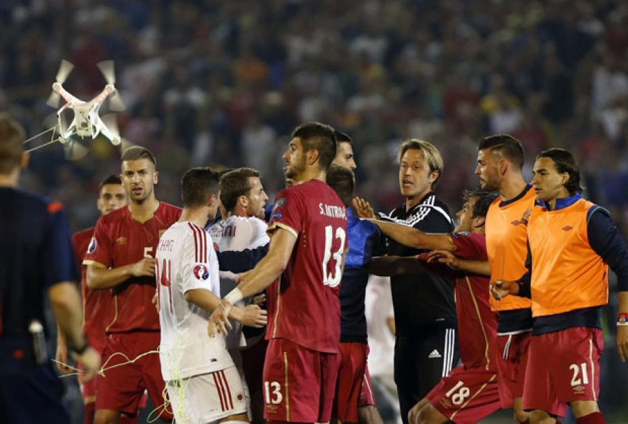 VUCIC: UEFA confirms Albania is responsible for the incidents