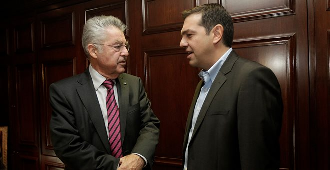 Meeting Tsipras Fischer centered on eurocrisis
