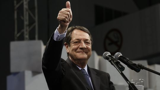 Cyprus President in a Brussels hospital