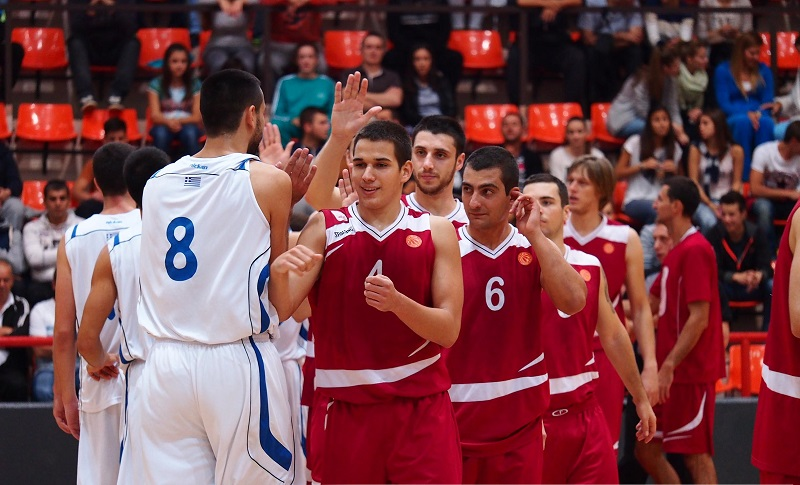 Kozuf marks a victory in the Balkan Basketball League