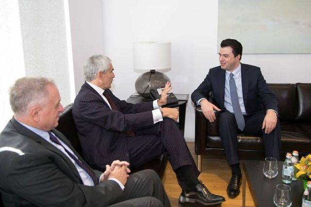Leader of opposition receives the head of the Foreign Committee in the Italian Senate