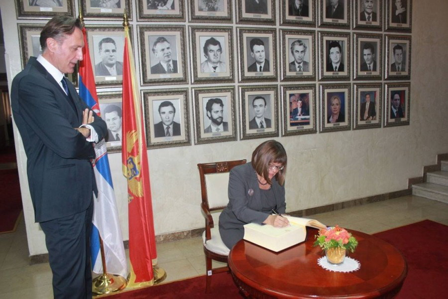 Presidents of the Parliament of Montenegro and Serbia: Democracy and rule of law are the best response to nationalism