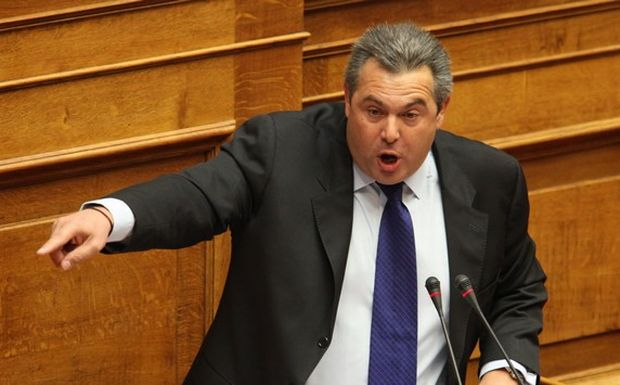 Panos Kammenos arraigns the IRS for exerting pressure on MPs of the Independent Greeks