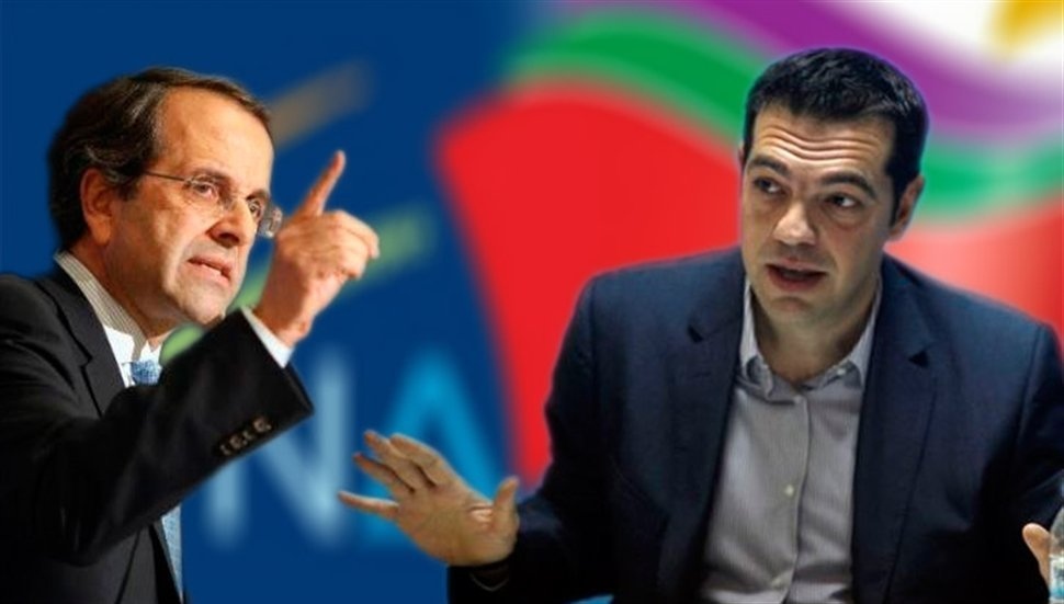 The intense dispute between ND and SYRIZA continues