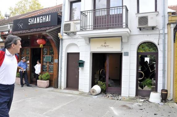 Albanian Embassy stoned in Podgorica
