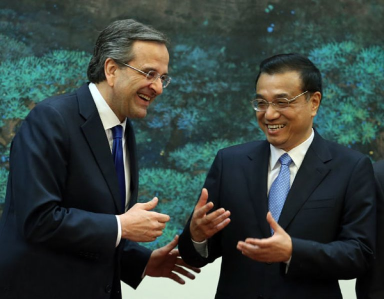 Energy, railways and ports, the topics of the meeting between Samaras – Li Keqiang
