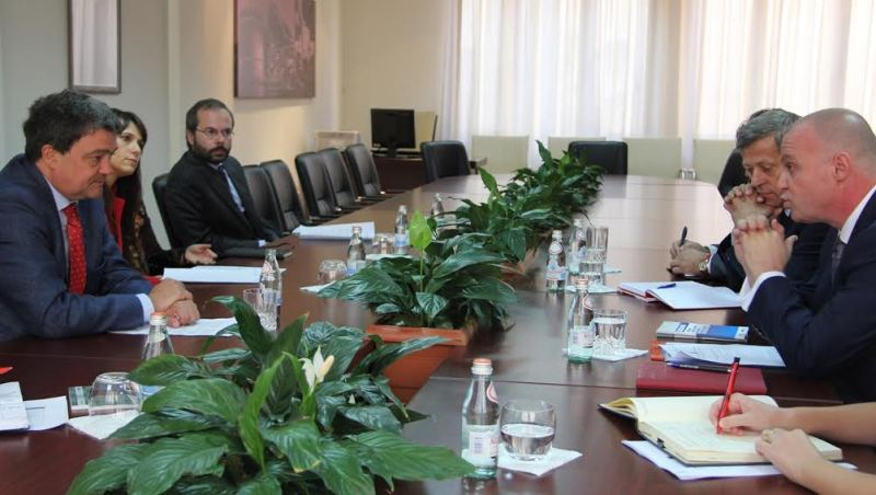 Head of OSCE meets the head of HIDAA to discuss prosecution of corruption cases