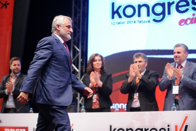 Menduh Thaci reelected as leader of PDSH