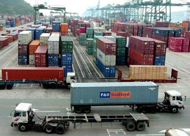 Reduction of Greek exports in August
