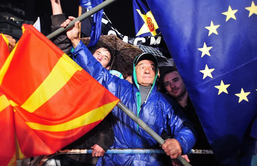 Progress report sparks debates and criticism in Skopje