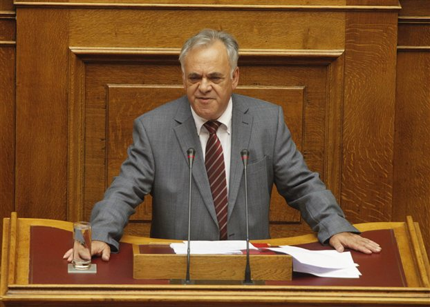 SYRIZA MP Giannis Dragasakis unleashes serious accusations