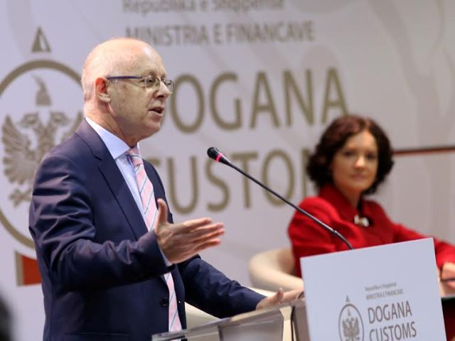 Better performance in customs helped to increase 2014 budget, says Albanian Minister of Finance